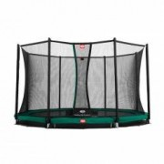 Berg Trampolin InGround Champion inkl. Sicherheitsnetz Comfort 430 cm