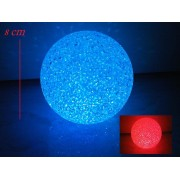 Mood Light - Sfera di cristalli cambiacolore - Lampada da SPA