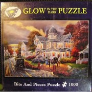 Seasons Of Change By Keith Brown 1000 Piece Puzzle Glow In The Dark