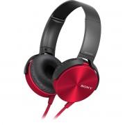 Sony Mdr-Xb450Ap Extra Bass Fone de Ouvido com Microfone Vermelho
