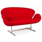 Swan 2 places Arne Jacobsen - Rouge