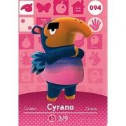 Animal Crossing Happy Home Designer Amiibo Card Cyrano 094/100