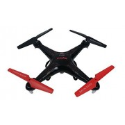 Syma X5C Quadcopter Drone with HD Camera and extra battery in exclusive Black/Red design by Syma