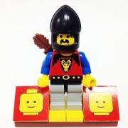 "Minifigure Packs: Lego Castle Dragon Knights Bundle ""(1) First Knight"" ""(1) Figure Display Base"" ""(1) Figure Accessory"""