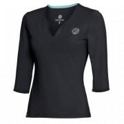 BIDI BADU Cyra Tech V-Neck Long Sleeve Black (XL)