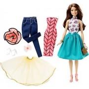 Papusa Barbie Mattel BRB Fashion Mix'n Match Doll Satena DJW57-DJW59