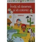 DeAgostini Invat sa desenez si sa colorez Animale