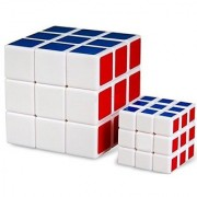 High Quality 3x3x3 Puzzle Cubes Magic Squares (1 normal size plus 1 small size
