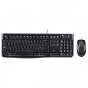 Kit tastatura + mouse LOGITECH Wired Desktop MK120