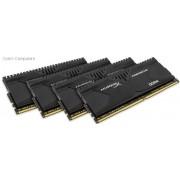 Kingston HX424C12PBK4/32 Hyper-x Predator 32GB(8Gb x 4) DDR4-2400 CL12 1.2v Desktop Memory Module