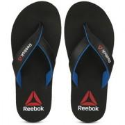 Reebok Men's Advent Black Flip Flops