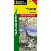 Universal Map Yosemite National Park Trails Illustrated Map 15508