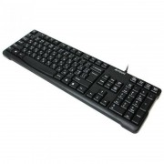 Tastatura A4Tech KR-750, cu fir, US layout, neagra, Natural_A Shape Key, Laser inscribed keys, PS/2