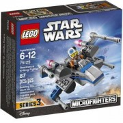 Конструктор Лего Стар Уорс - X-Wing изтребител на съпротивата - LEGO Star Wars, 75125