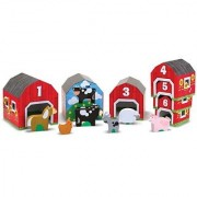 Melissa & Doug Nesting Sorting Barns and Animals