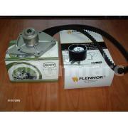 Kit distributie+pompa apa+curea alternator Logan 1.5 -aer conditionat