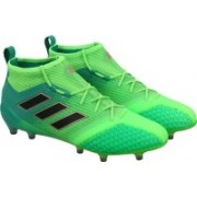 Adidas ACE 17.1 PRIMEKNIT FG Football Shoes(Green, Black)