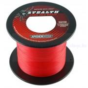 SPIDERWIRE STEALTH 0, 25MM 1800M CODE RED 22, 9KG