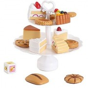 Liberty Imports Cookies and Desserts Tower Balance Game - Play Food Toy Set for Kids