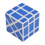 5?7cm Rompecabezas Fisher Cube - blanco + azul