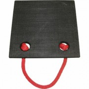 Ame International Non-Skid Jack Plate - 30-Ton, Model 14464, Black