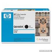HP Color LaserJet Q6460A Black Print Cartridge (Q6460A)