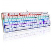 AULA Unicorn Backlit Mechanical Keyboard with Multi-color LED Illuminated Gaming Computer Keyboard