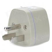 Universal de viaje de Estados Unidos Energia Adaptador de enchufe - Blanco