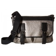 Kenneth Cole Reaction Mars Mono Crossbody Pearlized Silver