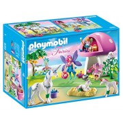 Playmobil 6055- Playset Fairies, Casa Fungo delle Fate