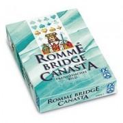 Coffret Jeux De Cartes - Rommé Canasta Bridge : Bleu