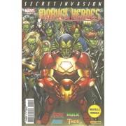 """ Secret Invasion : Le Seul Bon Skrull "" ( Avengers : The Initiative / The Mighty Avengers / Hulk / Thor ) : Marvel Heroes N° 19 (Mai 2009 )"