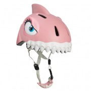Casca bicicleta copii Pink Shark cu LED
