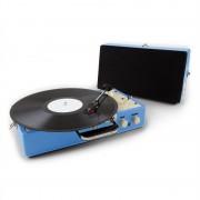 Auna nostalgie Buckingham înregistrare valiza retro AUX albastru (TTS7-Buckingham-BL)