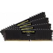 Memorie Corsair Vengeance LPX 16GB kit 4x4GB DDR4 2133Mhz CL15 Black