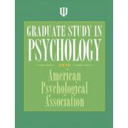 Graduate Study in Psychology by American Psychological Association