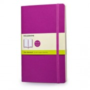 Moleskine Classic Colored Notebook, Large, Plain, Orchid Purple