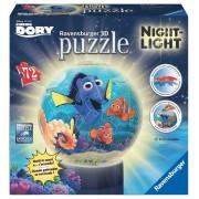 Puzzle 3D 72 Piezas Ravensburger Puzzle Ball Lámpara Ravensburger Buscando a Dory 3D 72 Piezas de Disney