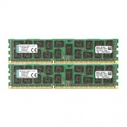 Kingston KVR13R9D4K2/32 Memoria RAM da 32 GB, Kit 4x8 GB, 1333 MHz, DDR3, ECC Reg CL9 DIMM, 240-pin