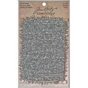 Tinsel Twine by Tim Holtz Idea-ology, 6 Yards, Polyester, Silver, TH93025
