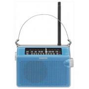Hordozható táskarádió PR-D6 Blue AMFM