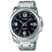 Casio Quartz Black Round Men Watch MTP-1314D-1AVDF(A550)