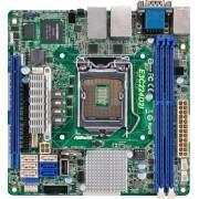 ASRock E3C224D2I - Scheda madre per server/workstation (socket 1150, Intel C224, DDR3, S-ATA 600, M-ITX)