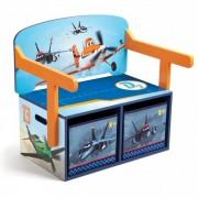 Bancuta Delta Children Disney Planes 2 in 1 pentru jucarii