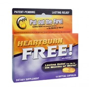 HEARTBURN FREE with ROH10 10 Softgels