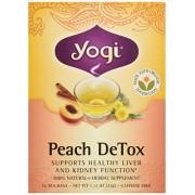 Peach Detox Tea Yogi Teas 16 Bag