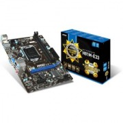 MSI H81M-E33 - 4th Generation MotherBoard (LGA1150 H81 Chipset HDMI + VGA Ports DDR3 Upto 16GB)