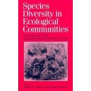 Species Diversity in Ecological Communities by Robert E. Ricklefs