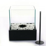 Biochimenea decorativa Stone black 25x21