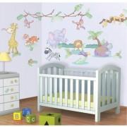 Kit decor Walltastic Baby Jungle Safari